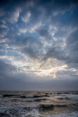 cloudscape above the dutch sea