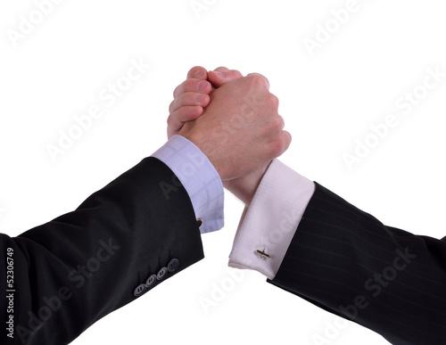 strong handshake