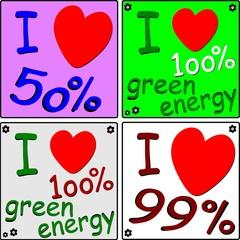 IO AMO L'ENERGIA PULITA