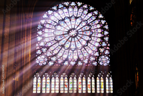 canvas print picture Kirchenfenster
