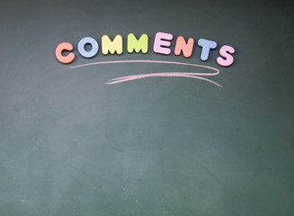 comments sign