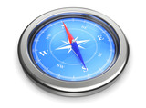 Fototapety compass icon