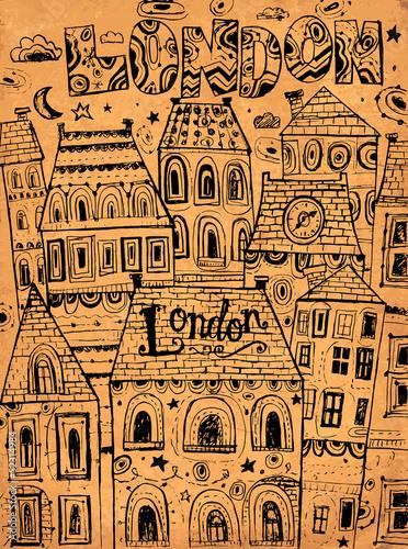 recznie-rysowane-ilustracji-wektorowych-z-londynskich-domow