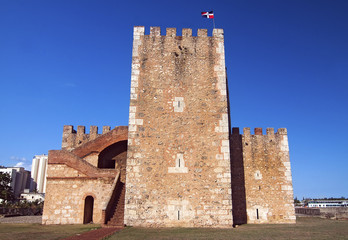 Ozama Fortress in Santo Domingo, Dominican Republic