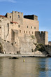 Royal castle of Collioure in France