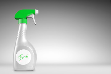 Cleaner Bottle with backdrop