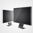 Two vector LCD tv