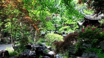Pan Shot of Yu Garden