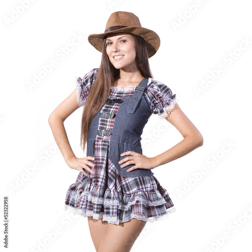 beautiful sexy country and western girl