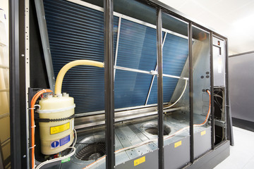 Large industrial cooling system.