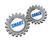 smart goals in silver grey gears