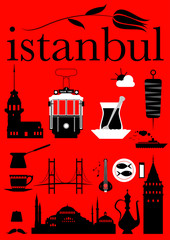 Istanbul Pictograms Set