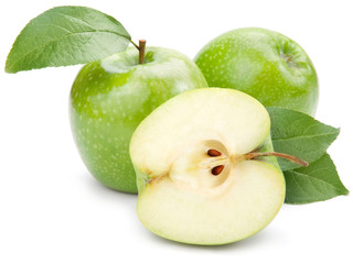 Green apples
