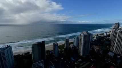 Time lapse seascape Gold coast, Queensland/Australia