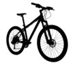 Bicycle silhouette - 52326118