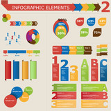 Infographic elements, icon set