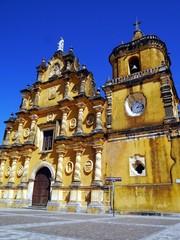 ニカラグアのレオンにあるレコレクシオン教会