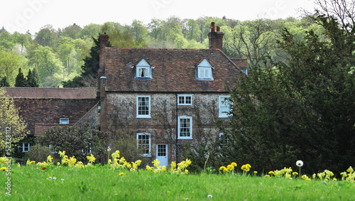 English Manor Farmhouse