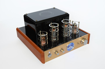 Vacuum Tube Stereo Amplifier