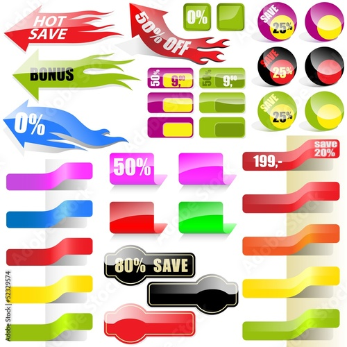 Shopping Tags Collection - Sales Elements