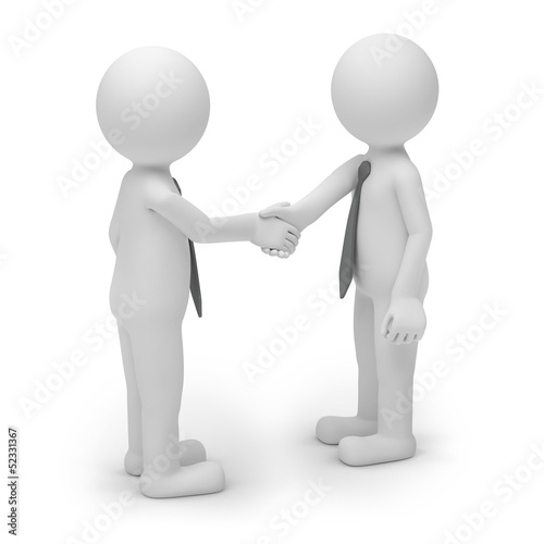 handschlag two man