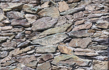 background texture of stone walls
