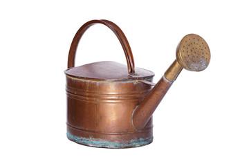 Alte Kupfergießkanne