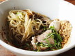 Dry Boat Noodles with Pork, Thai Street Food