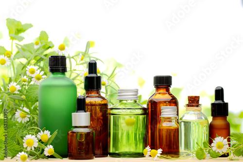 canvas print picture Essential oil