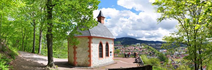 Panoramafoto Ottilienkapelle / Suhl