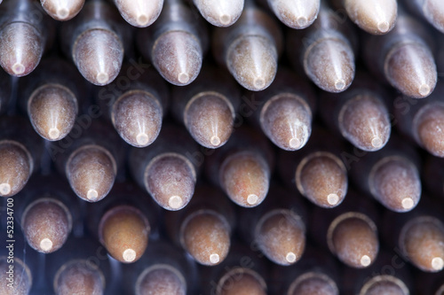 Assault Rifle Cartridges Bullets Stack Background