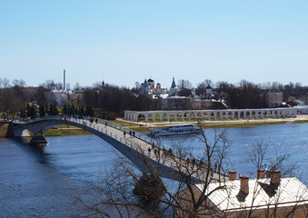 Bridge in Novgorod