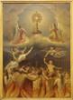 Leinwanddruck Bild - Madrid - Eucharist and the souls in purgatory.