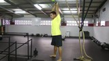 Kettlebell swing crossfit fitness
