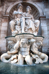 Vienna (Austria) | Danubius Fountain at Albertina