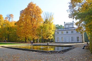 Old lazenki palace - Warsaw Poland