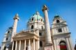 Vienna (Austria)   St. Charles's Church (Karlskirche)
