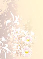 Hintergrund mit Ornament