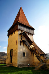 The fortified church from Biertan, Transylvania, UNESCO heritage