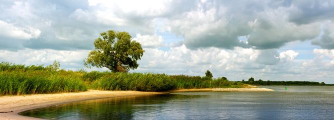 an der Elbe bei Blekede