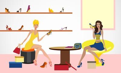 women shoe store