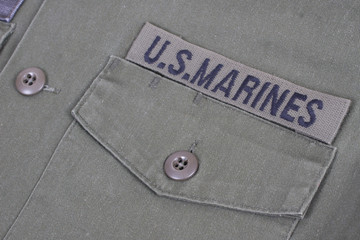 us marines uniform vietnam war period