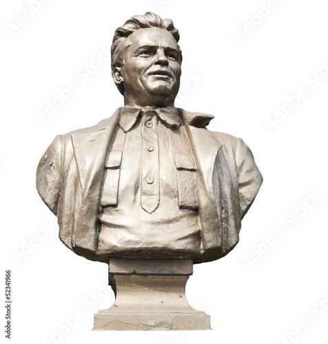 Leinwandbild Motiv bust of Russian revolutionary Kirov