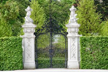 Old Gate at Castle Belvedere | Vienna (Austria)