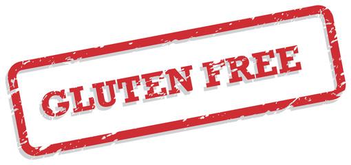 Gluten Free Rubber Stamp