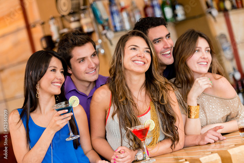 People at the bar