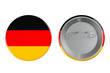Badges with Germany flag