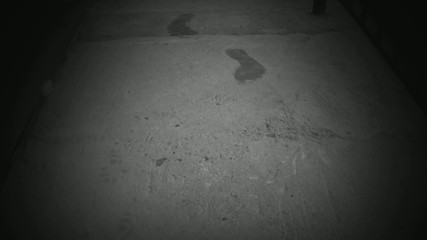 The appearance of footprint ghost