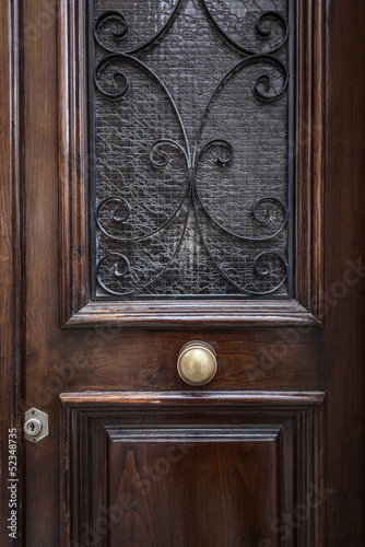 Luxury old door