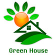 Logo of green house